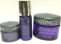 Set: Lancome Renergie Lift Multi action NIGHT Cream+  Eye + Reviva Concentrate