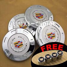 "Set of 4 Silver Car Alloy Rim Emblem Wheel Center Hub Cap logo 200mm 8"""