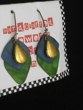 Sterling Silver 925 Handcrafted RETRO EARRINGS