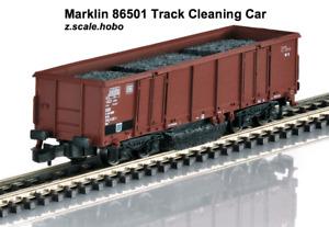"Marklin 86501 Z Scale Track Rail Cleaning Car ""Joerger"" *New *USA Dealer $0 SHIP"