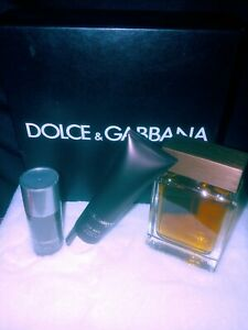 """Dolce & Gabbana """"The One"""" for Men - Deodorant Stick & After Shave Balm"""