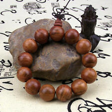 18mm monarch RAJA KAYU wood Tibetan Buddhism Amulet Bracelet