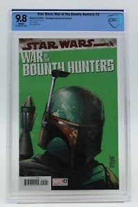 Star Wars War of the Bounty Hunters (2021) #2 Camuncoli CBCS 9.8 Blue Lbl WH Pgs