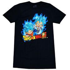 28fd91089eb Dragon Ball Super Z SD SSGSS Super Saiyan Blue Goku   Vegeta Men T-Shirt