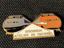 PINS PIN ENAMEL TRAIN LOCOMOTIVE TGV BISCHHEIM BALLARD VERSION DORE