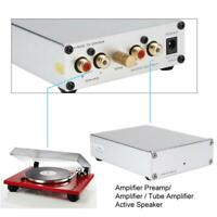 Tube MM/MC Phono Stage Preamp Mini Turntable Preamplifier Replace T11 Vacuum