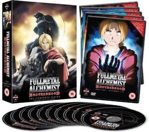 Fullmetal Alchemist Brotherhood Complete Series Collection DVD Box Set New
