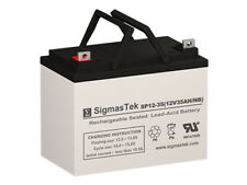 Vision CG12-33XA Battery Replacement By SigmasTek - 12V 35AH NB