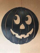 Vintage Halloween Blow Mold Pumpkin Haunted Decoration Union Products Rare
