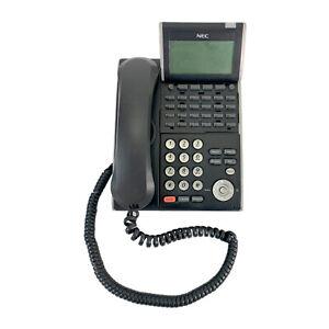 NEC DT300 Series DTL-24D-1 (BK) TEL Black Office Telephone