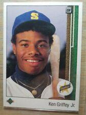 UPPER DECK KEN GRIFFEY Jr ROOKIE CARD # 1 & 2001 ALL STAR # 30 & 1991 FLEER  # 4