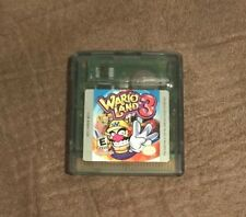 Wario Land 3 Nintendo Game Boy Color ~ Works Great! ~ Fast Shipping! ~ LQQK