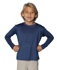 InGear Dry Fit swim shirts for Boys UV Sun Protective Rash Guard Workout Shirts