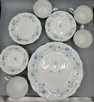 "Johann Haviland ""BLUE GARLAND"" 24 Piece Dinner Set - Bavaria Germany Fine China"