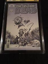 Walking Dead #8 SKETCH SIGNED Kirkman, Moore CGC 8.5 SS Autograph, AMC, Tv