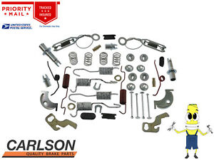 """Complete Front Brake Drum Hardware Kit For Plymouth Duster 1970-1975 w/ 9"""" Drums"""