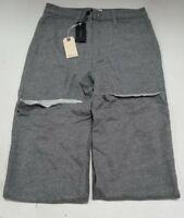 Rag and Bones Women's Grey Justine Sweatpants Size M W282C26U3