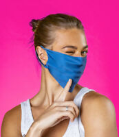 Bumpaa Face Mask in Lake Blue. Face Covering Retail Packaged.