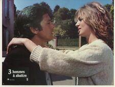 ALAIN DELON DALILA DI LAZZARO 3 HOMMES A ABATTRE 1980 VINTAGE LOBBY CARD #7