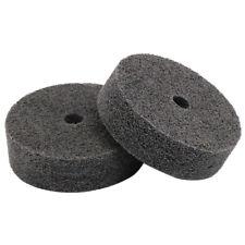 3 Inch Abrasive Fiber Polishing Grinder Buffer Wheel Pad Polisher Kit Drill Tool