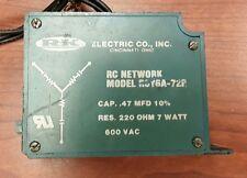 R-K Electric Rc Network, Model Rcy6A-72R, 600Vac