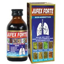 Aimil Jufex Forte Syrup 100ml Reduces Virus Yield in the Lungs Free Shipping
