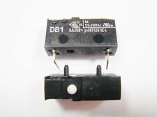 2x Micro Switch End Switch Switch Button 1xAUS 250V 6A Cherry DB1 #15S25