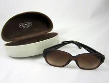 Coach L027 Pamela Sunglasses & Case Tortoise Shell Brown Gold HC 8036