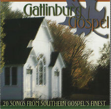 Gatlinburg Gospel 20 Songs From Southern Gospel's Finest - CD,1999, Homeland Rec