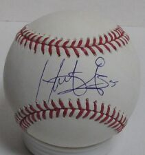 Brewers HECTOR GOMEZ Signed Official MLB Baseball AUTO - Rockies - Wyverns