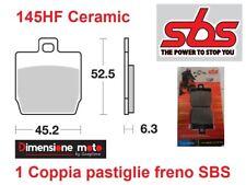 145HF - CP Pastiglie Freno Anteriori SBS Ceramic per MBK Stunt Naked 50 dal 2005