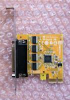 Sunix SER6456A PCI-express x1 4-Port RS-232 Serial Card Speed up to 115.2Kbps