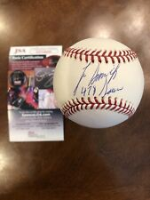 Lee Smith Autographed & Inscribed MLB Baseball JSA St. Louis Cardinals HOF