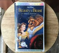 Beauty and The Beast Walt Disney RARE Platinum Edition VHS SPECIAL EDITION Video