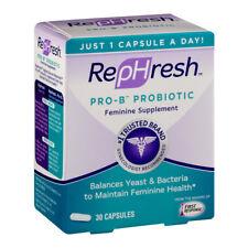 RepHresh Pro-b Probiotic Feminine Supplement 30 Count
