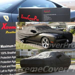 CUSTOM FIT CAR COVER FOR 2015 2016 DODGE CHALLENGER Breathable Black