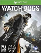 NEW Watch Dogs Xbox One Action Video Game Standard Edition Mature Rated Ubisoft