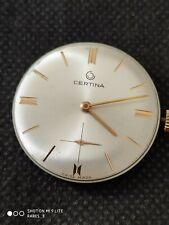 Vintage Certina 28-10 gents watch movement, working