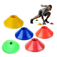 10× Football Cross Training Track Disc Cones Sports Safety Equipment Sign Sanwoo