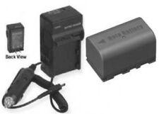 BN-VF815U BN-VF815 BNVF815U BNVF815 Battery + Charger for JVC GC-PX10 GY-HM150