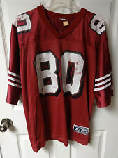 Vintage Starter Jerry Rice # 80 San Francisco 49ers Football Jersey Adult XL