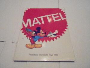1988 VINTAGE CATALOG #1397 - MATTEL TOYS - DISNEY - INFANT & PRESCHOOL