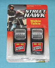 vintage Fleetwood STREET HAWK WALKIE TALKIES rack toy