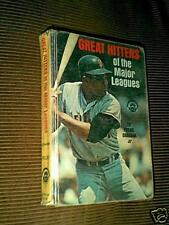 Great Hitters Of The Major Leagues Willie Mays by Frank Graham Jr. 1969 HC