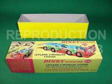 Dinky #936 Leyland 8-wheel Test Chassis - Reproduction Box by DRRB