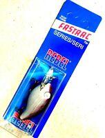 Details about  /Lot #1200 Rebel Fastrac Jointed Crankbait Blue//Orange//Chrome Good Condition