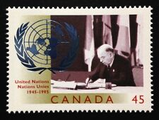 Canada #1584 MNH, United Nations - 50th Anniversary Stamp 1995