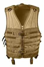 Rothco 5404 Coyote Brown Molle Modular Tactical Assault Military Style Vest