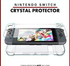 Detachable PC Crystal Protection Ultra Slim Transparent Case Cover Nintendo Swit