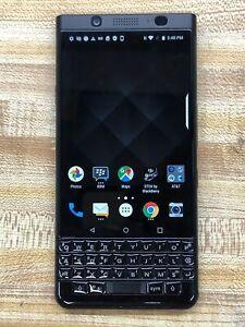 BlackBerry KEYOne(BBB100-1)Smartphone - Black -32GB - Bad *IMEI*